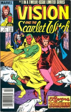 Vision and Scarlet Witch #1