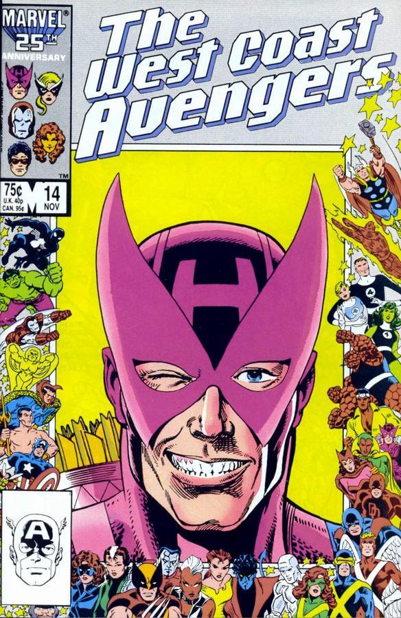 West Coast Avengers #14
