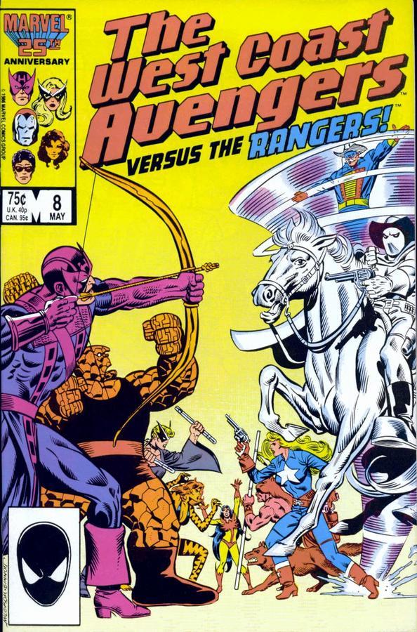West Coast Wednesdays: West Coast Avengers Vol. 2, #8
