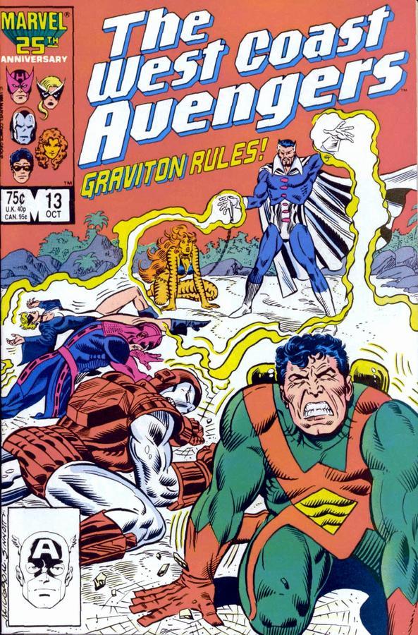 West Coast Wednesdays: West Coast Avengers Vol. 2, #13
