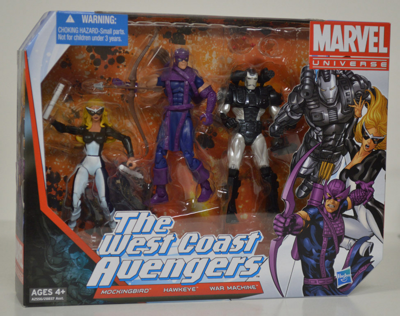 West Coast Avengers Action Figures