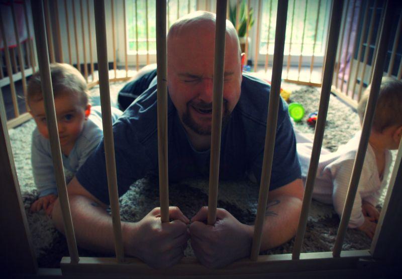 Sometimes prison breaks a man...