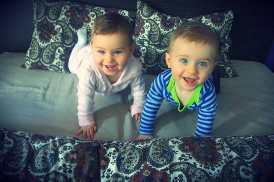 The Wonder Twins at 9 Months