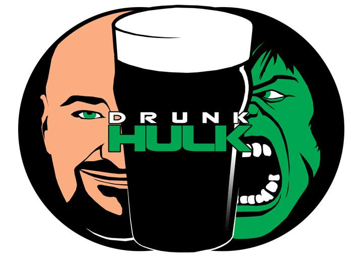 Drunk Hulk T-shirt