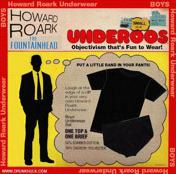 Howard Roark Underoos