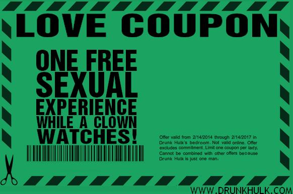 One Free Sexual Experience While a Clown Watches