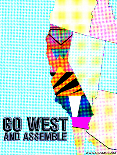 Go West and Assemble!